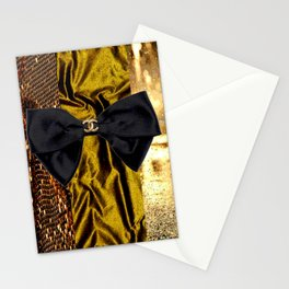 COCO GLAMOUR AND VINTAGE : BOW Stationery Cards