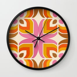 Floral Candy Wall Clock