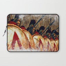 Spartan Army at War Laptop Sleeve