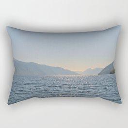 Teletskoye lake. Altai. Russia Rectangular Pillow