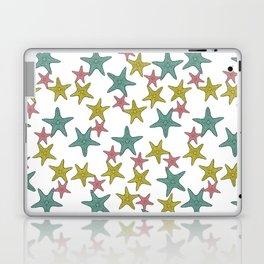 starfish tropical print Laptop & iPad Skin