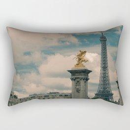 Eiffel Rectangular Pillow