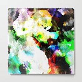 Color Bubbles Metal Print