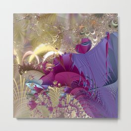 Feelings of being in love -- Fractal illustration Metal Print