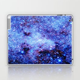 GAlaxy Periwinkle Stars Laptop & iPad Skin