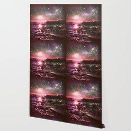 Mystic Waters Deep Pastels Wallpaper