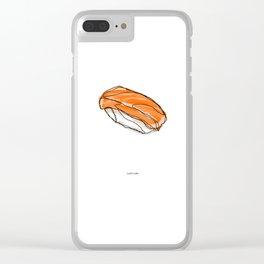 Sake Sushi Clear iPhone Case