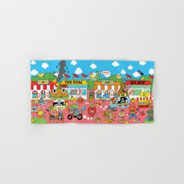 CUTE and SUCK CITY Hand & Bath Towel