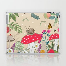 Toadstools in the Woods Laptop & iPad Skin