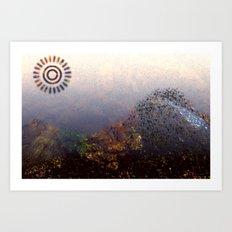Mountain Series - Dawn Art Print