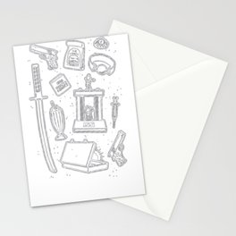 CULT CLASSIC ICONS T-SHIRT Stationery Cards