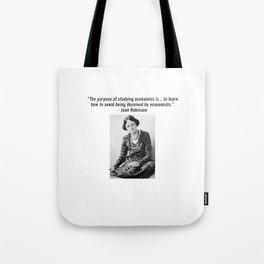 Joan Robinson Tote Bag