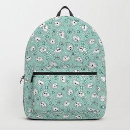 Cat Paisley Mint Backpack