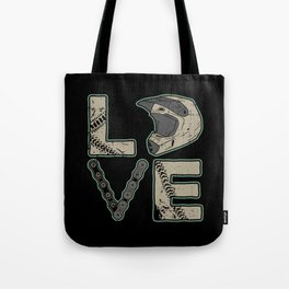 I Love Dirt Bike | Motocross Tote Bag