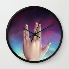 The Journey Itself Is Home Wall Clock