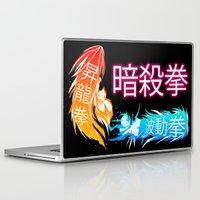 megaman Laptop & iPad Skins featuring Megaman X Ansatsuken by FuShark