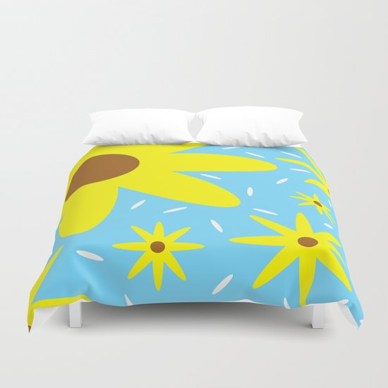 Nothing But Flowers Duvet Cover