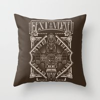 verse Throw Pillows featuring Best in the 'Verse by Buzatron