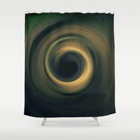 potter Shower Curtains featuring The Potter by Richard Designs