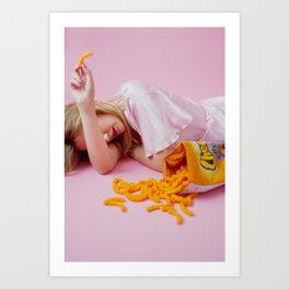 Cheetos forever Art Print