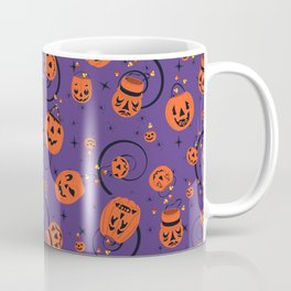 Halloween Magic- Purple Coffee Mug