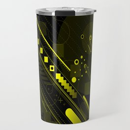 Lines in the sand Travel Mug