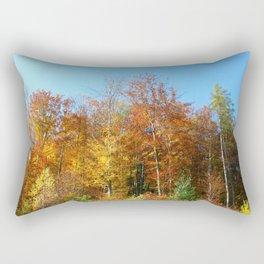 Golden Heavens Rectangular Pillow