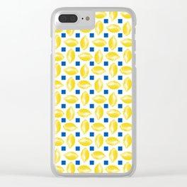 Lots of Lemons Clear iPhone Case