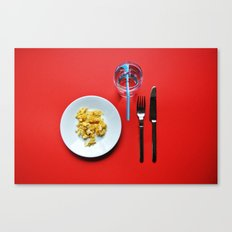Primary Colours : Breakfast Canvas Print