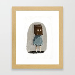 Bad Day Framed Art Print