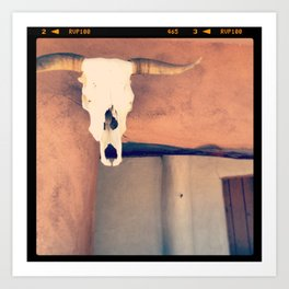 Ghost Ranch, New Mexico Art Print