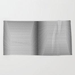 Binary Rooms Beach Towel