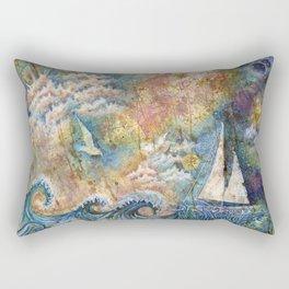 Dreaming at Sea Rectangular Pillow
