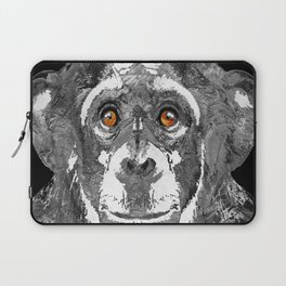 Black And White Art - Monkey Business 2 - By Sharon Cummings Laptop Sleeve