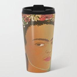 Dear Frida / Stay Wild Collection Metal Travel Mug