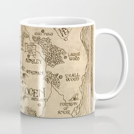 Map of Aemogen Coffee Mug