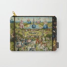 Hieronymus Bosch The Garden Of Earthly Delights Carry-All Pouch