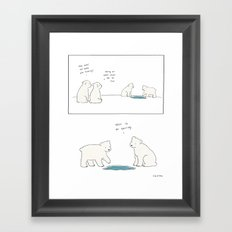 Being an Adult Framed Art Print