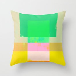 Abstract Geometry No. 9 Throw Pillow