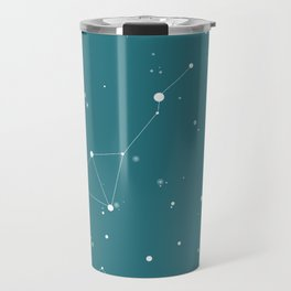 Emerald Night Sky Travel Mug