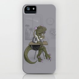 Clever Gurl iPhone Case