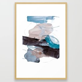 abstract painting VIII Framed Art Print