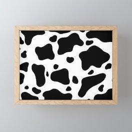 Cow Hide Framed Mini Art Print