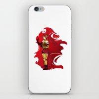 rwby iPhone & iPod Skins featuring RWBY Pyrrha by IslandMyths