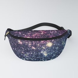 Galaxy Stars : Subtle Purple Mauve Pink Teal Fanny Pack