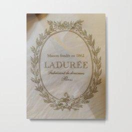 Laduree Metal Print