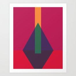 Cacho Shapes LXXIX Art Print