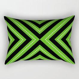series 1 Green Rectangular Pillow