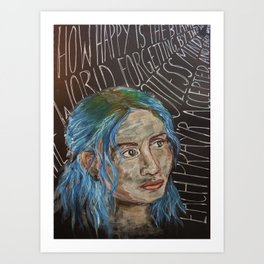 Clem - Eternal Sunshine of the Spotless Mind Art Print