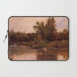 Albert Bierstadt - Landscape, New Hampshire Laptop Sleeve